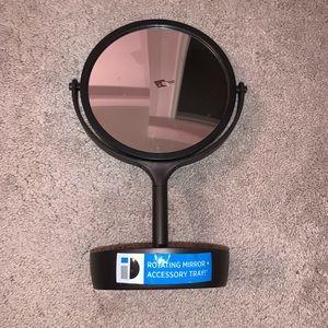 Bath - Bronze Brown Make Up Vanity Mirror